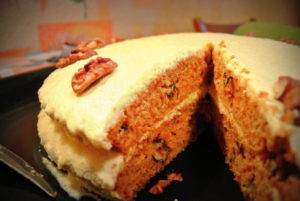 Діяспорянський морквяний торт