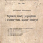 Juliuszowa Albinowska. Najnowsze sposoby przyrządzania i przechowywania zapasów…